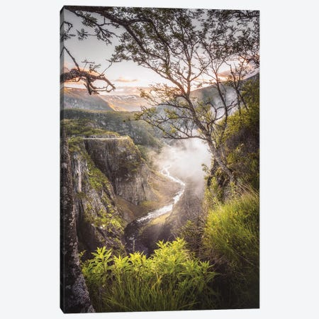 Voringfossen Canvas Print #LUR132} by Lauri Lohi Canvas Wall Art