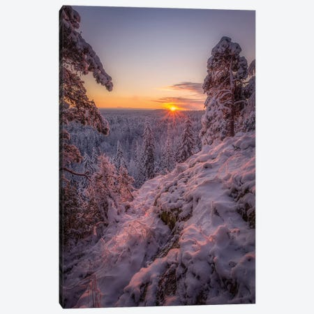 Good Morning Finland Canvas Print #LUR25} by Lauri Lohi Canvas Artwork