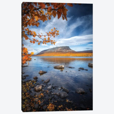 Saana Fell Canvas Print #LUR44} by Lauri Lohi Canvas Artwork