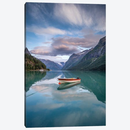 Lovatnet Canvas Print #LUR78} by Lauri Lohi Canvas Wall Art