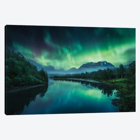 Magic Of The Night Canvas Print #LUR91} by Lauri Lohi Canvas Artwork