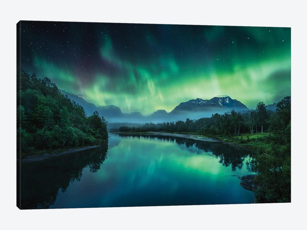 Magic Of The Night by Lauri Lohi 1-piece Canvas Art
