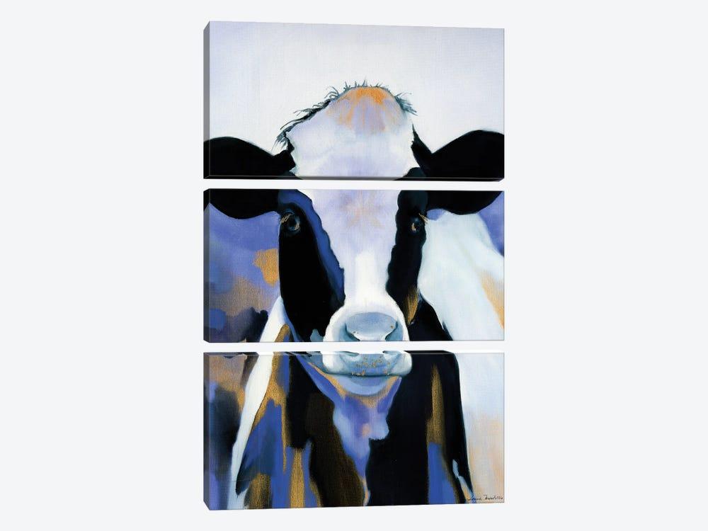 Wild Blues by Louise Montillo 3-piece Art Print