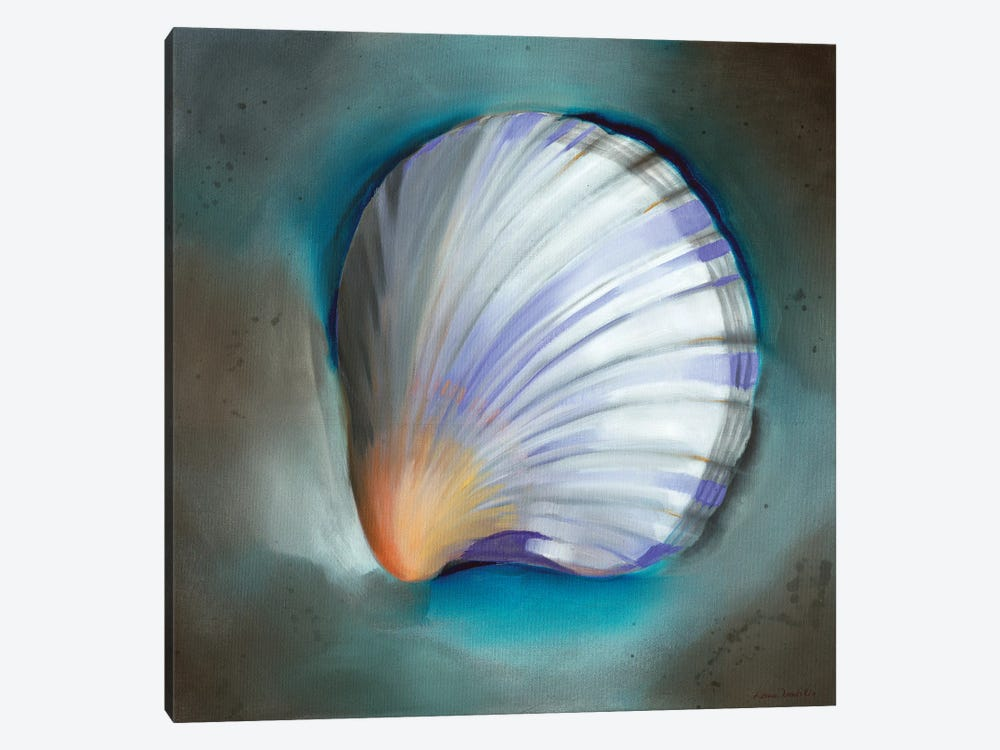 Clam Shell Glow by Louise Montillo 1-piece Canvas Art Print