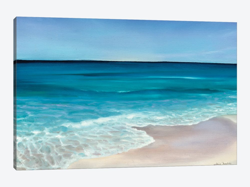 Rippling Waves by Louise Montillo 1-piece Canvas Art