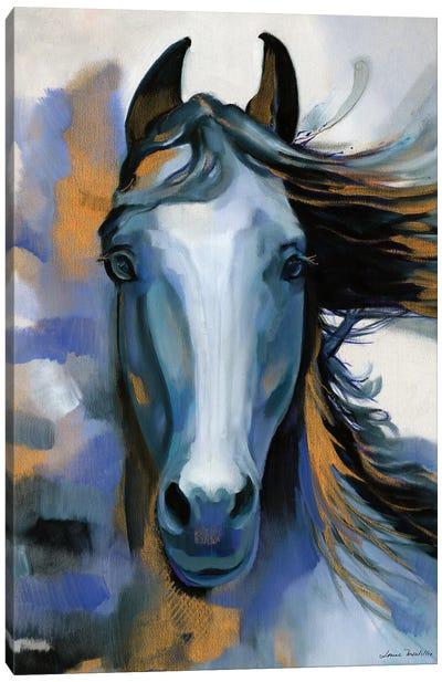 Wild Blues Canvas Art Print