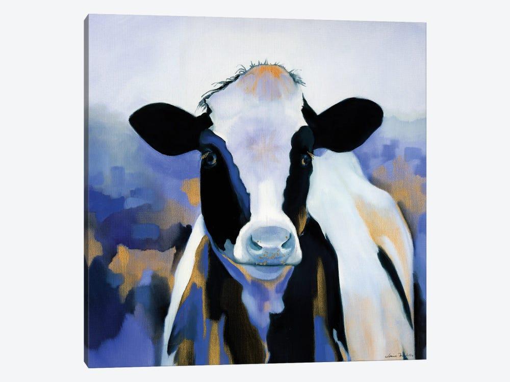 Wild Blues by Louise Montillo 1-piece Canvas Print