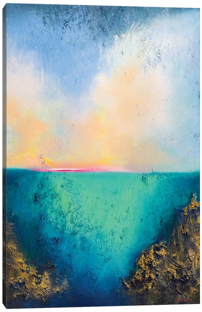From The Deep I Canvas Art Print