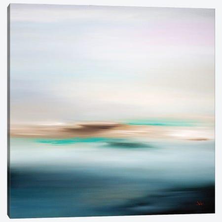 Pure Silence Canvas Print #LUV16} by Larissa Uvarova Art Print