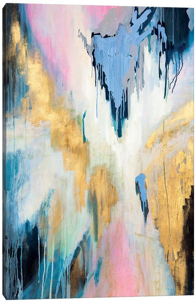 Plunging Into Our Dreams Canvas Art Print