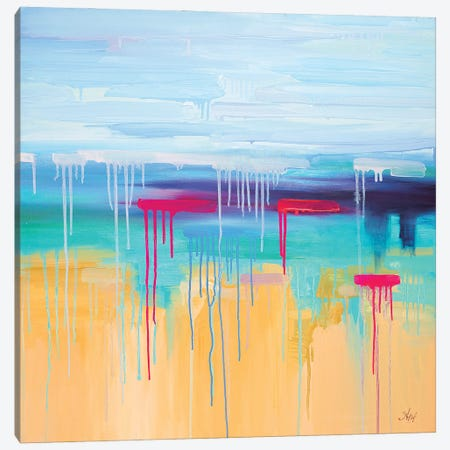 Cote D'Azur Canvas Print #LUV38} by Larissa Uvarova Canvas Art