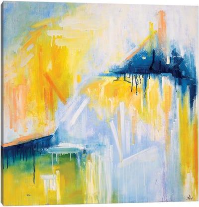 Code: I Love You Canvas Art Print