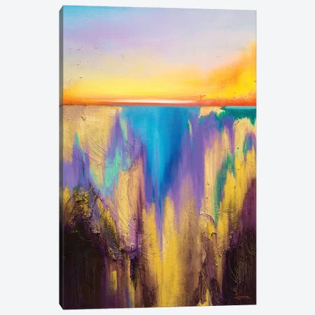 Fro The Deep Canvas Print #LUV43} by Larissa Uvarova Canvas Print