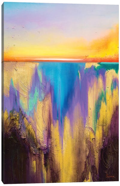 Fro The Deep Canvas Art Print