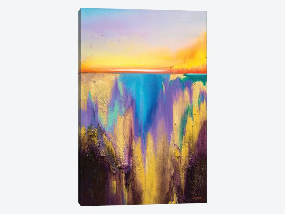 Fro The Deep by Larissa Uvarova 1-piece Canvas Art