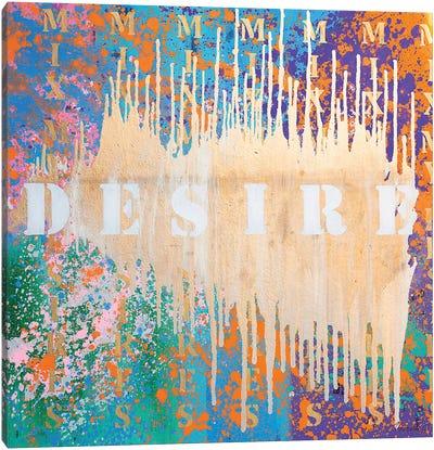 Mix My Desires IV Canvas Art Print
