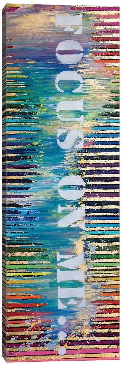 Focus On Me Canvas Art Print