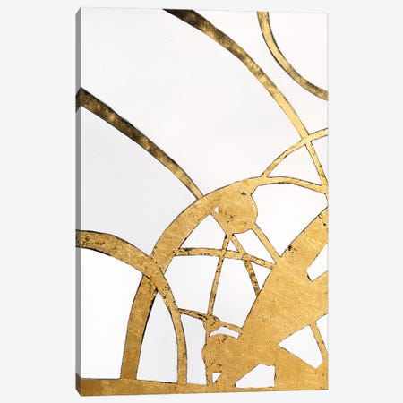 Our Golden Time Canvas Print #LUV56} by Larissa Uvarova Canvas Art Print