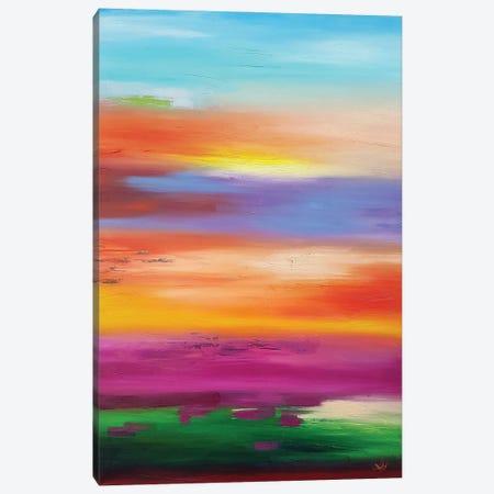 Bright Spring Canvas Print #LUV58} by Larissa Uvarova Canvas Artwork