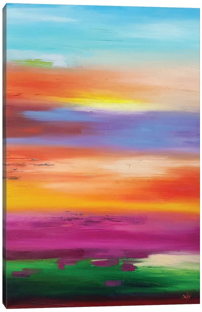 Bright Spring Canvas Art Print