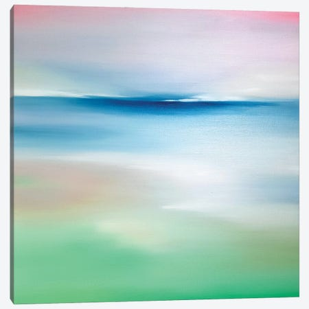 Tender Sea II Canvas Print #LUV65} by Larissa Uvarova Canvas Art