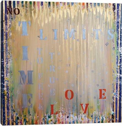 Time Series No Time Limits Canvas Art Print