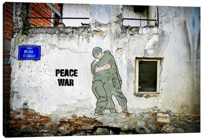 Peace War Canvas Art Print