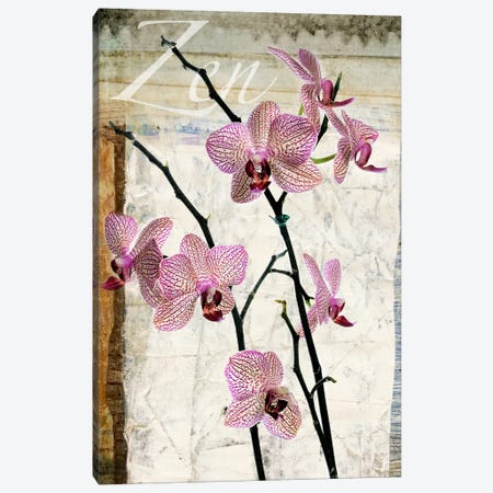 Orchids Canvas Print #LUZ26} by Luz Graphics Canvas Wall Art