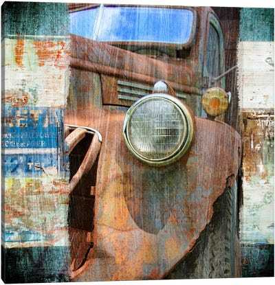 Old Truck Canvas Art Print