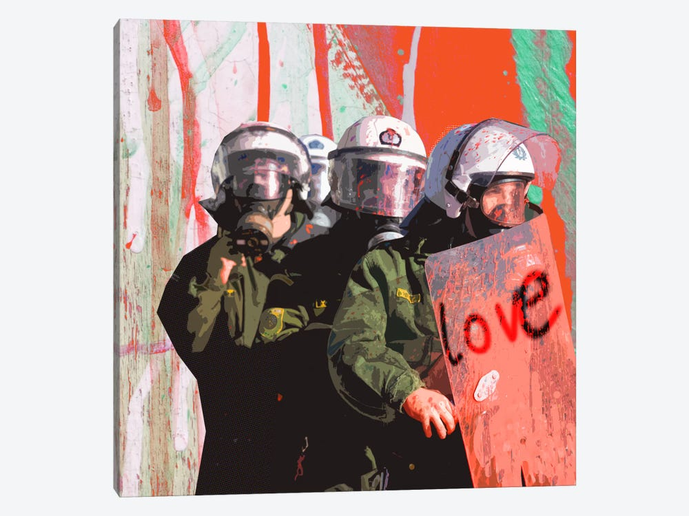 Love by Luz Graphics 1-piece Canvas Print