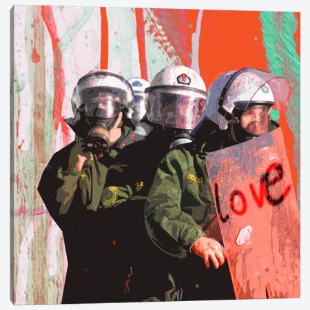 Love Canvas Print #LUZ37} by Luz Graphics Art Print