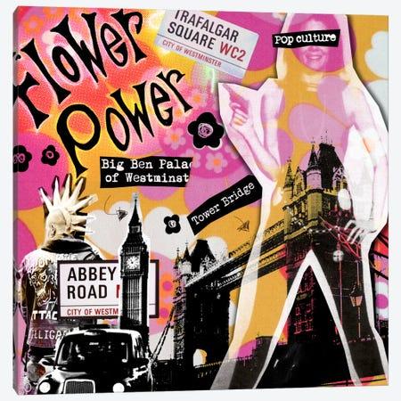 London #4 Canvas Print #LUZ39} by Luz Graphics Canvas Art