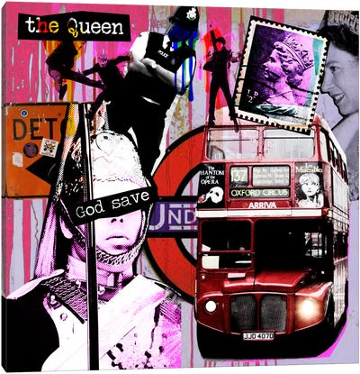 London #3 Canvas Art Print