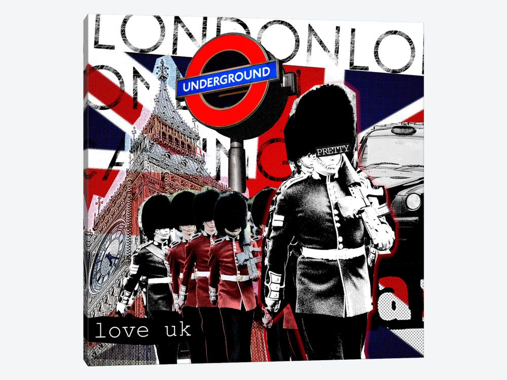 London #2 by Luz Graphics 1-piece Canvas Art