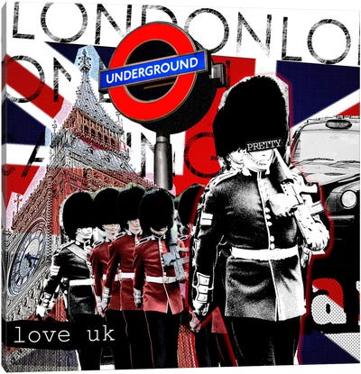 London #2 Canvas Art Print