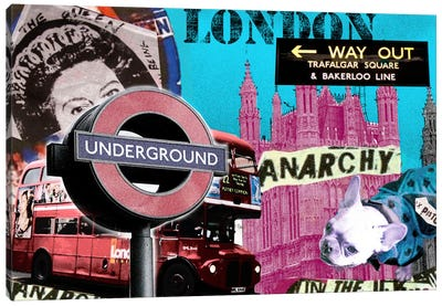 London #1 Canvas Art Print