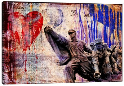 In the Name of Love Canvas Art Print