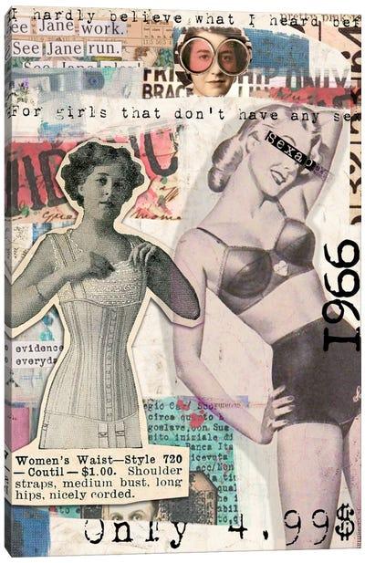 Vintage Fashion Canvas Print #5 Canvas Print #LUZ4