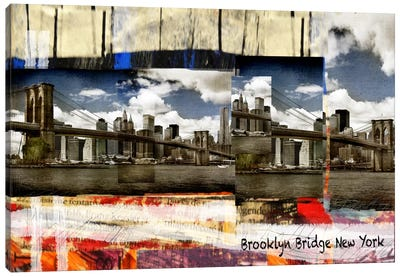 Brooklyn B New York Canvas Art Print