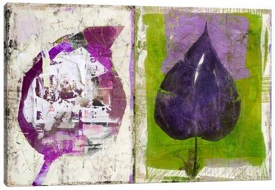#2 Color Leaves Canvas Art Print