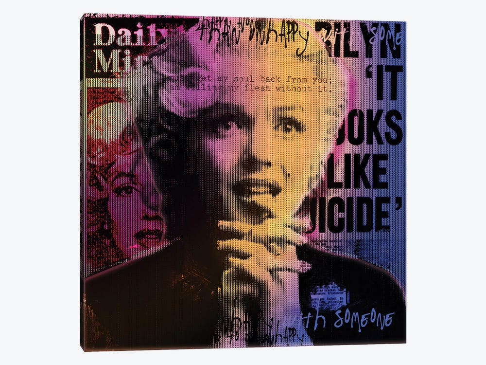 Daily Mirror News by Luz Graphics 1-piece Canvas Wall Art