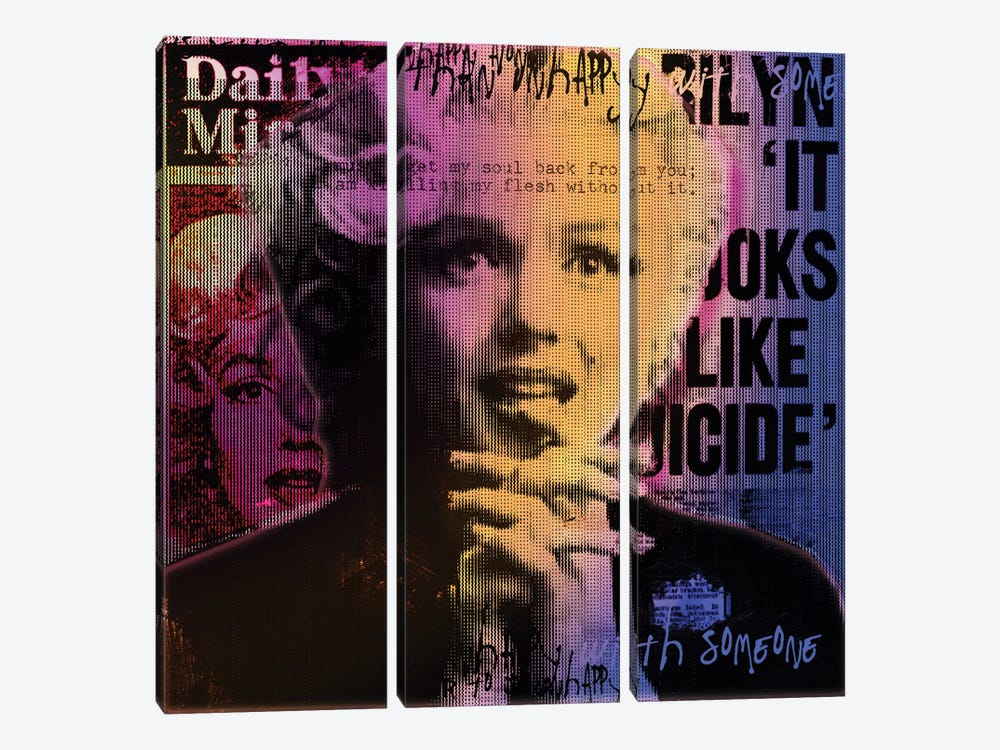 Daily Mirror News by Luz Graphics 3-piece Canvas Wall Art