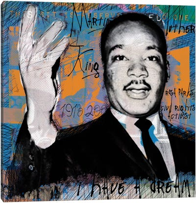 I Have A Dream by Luz Graphics Canvas Wall Art