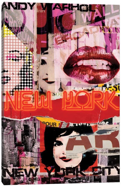 New York Delight Canvas Art Print