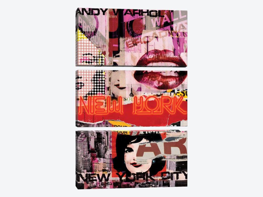 New York Delight by Luz Graphics 3-piece Canvas Artwork