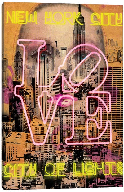 New York Eyes Canvas Art Print