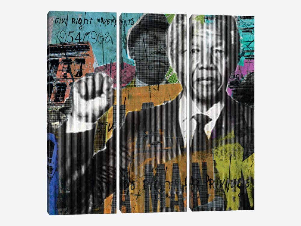 One Vote by Luz Graphics 3-piece Canvas Artwork
