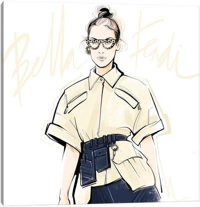 Fashion Week Bella Canvas Art Print