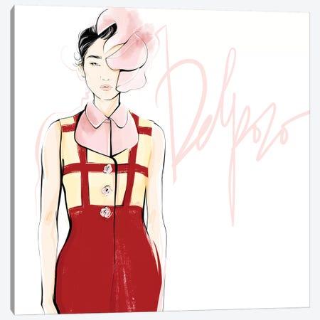 Fashion Week Delpozo Canvas Print #LVD14} by Alena Lavdovskaya Canvas Print