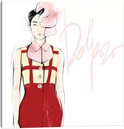 Fashion Week Delpozo Canvas Art Print
